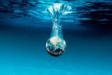 Earth Went Underwater Of The Ocean.