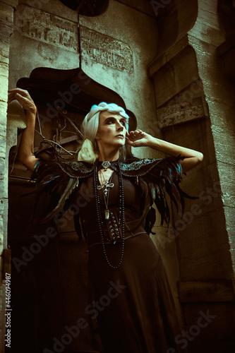 Obraz na plátně rich elderly widow