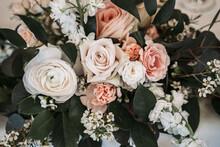 Closeup Shot Of Floral Bouquet Decorations