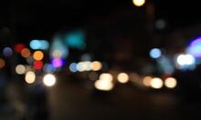 Night City Street Bokeh