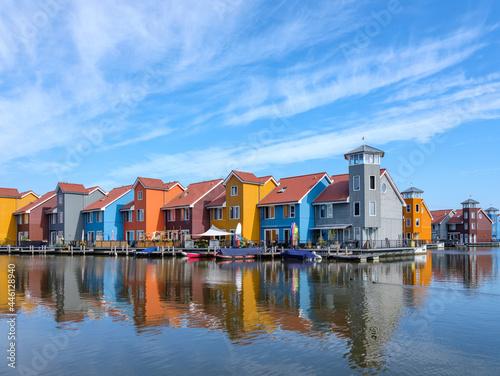 Canvas-taulu Reitdiep, Groningen stad, Groningen Province, THe Netherlands