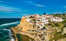 Azenhas Do Mar At The Atlantic Ocean - Sintra, Portugal