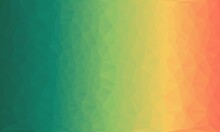 Abstract Colour Vibrant Creative Prismatic Background With Polygonal Pattern