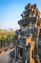 Ruins Of Ta Keo Temple In Angkor Temple Complex, Cambodia. UNESCO World Heritage
