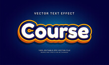 Course Editable Text Effect Themed Study Session