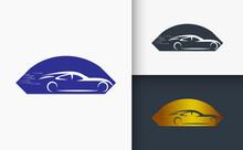 Car Logo Design Template Set
