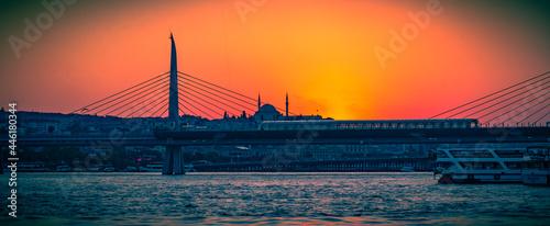 Fotografie, Obraz Estambul ciudad histórica y monumental entre la vieja Europa y Asia