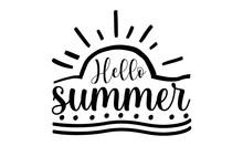 Hello Summer SVG, Beach SVG,Pack Beach Bundle, Beach Vector, Beach Tee Shirt, Fun Beach SVG, Cut Files For Cricut, Silhouette, Glowforge,Summer Beach Bundle SVG, Beach Svg Bundle