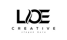 Letter LOE Creative Logo Design Vector