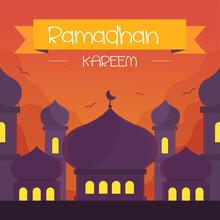 Flat Ramadan Kareem Illustration_11