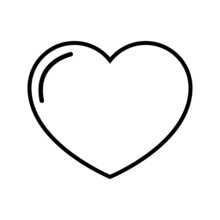 Love Icon Vector Set. Relationships Illustration Sign Collection. Online Dating Symbol Or Logo.