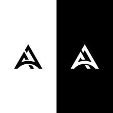Letter A, AA Logo