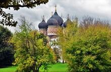 Assumption Church. Izmailovo Manor In Moscow