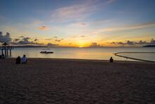 沖縄県石垣島の夕日がある風景 Ishigaki Okinawa
