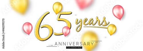 Fotografering 65 years anniversary