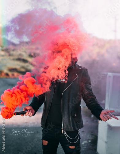 Fotografie, Obraz bomba de humo