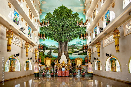 Buddha altar Fototapet
