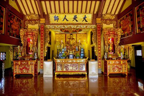 Billede på lærred buddhist temple in An Giang