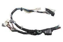 Engine Wiring Harness Jumper Wire Plug (with Clipping Path) Isolated On White Background