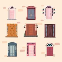 Nine Fronts Doors
