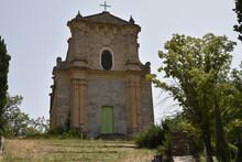 Eglise Baroque San Quilicu à Giocatojo, Corse
