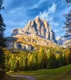 Italian Dolomites an autumn day