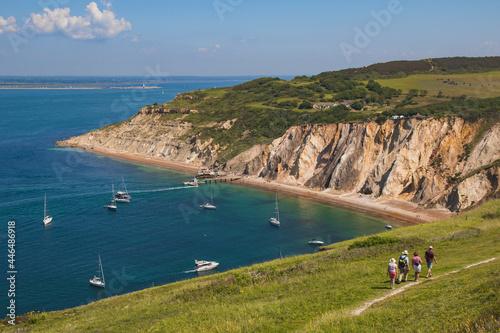 Fototapeta Alum Bay in Summer, Isle of Wight