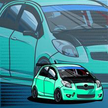 Illustration Of An Car