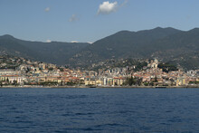 Sanremo View From The Sea