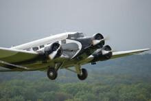 An Aircraft Niccknamed Aunt Ju And Iron Annie