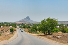 Scenery Near Gombe, Eastern Nigeria, West Africa, Africa