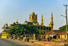 Cathedral In The Outskirts Of Ibadan, Nigeria, West Africa, Africa