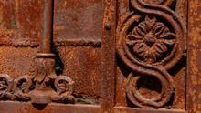 Detalhe De Uma Porta