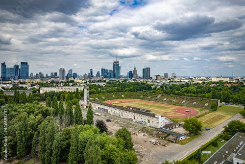 Fotomural Skra Warszawa