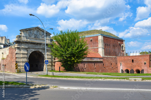 Canvastavla Fortifications of the fortress and city of Zamosc