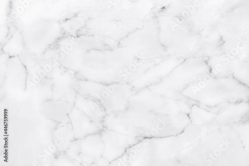 White marble texture for background or tiles floor decorative design Fototapet