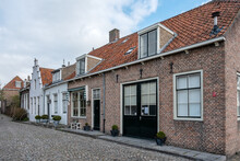 Kraanstraat In Veere, Zeeland Province, The Netherlands