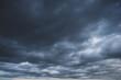 Leinwandbild Motiv 怖い雰囲気の曇り空