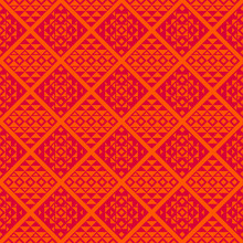 Unique Geometric Vector Seamless Pattern In Ethnic Style. Aztec Textile Print. Perfect For Backgrounds, Wrapping Paper And Fabric Design.