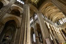 Rouen ; France - September 21 2017 : Cathedral