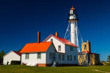 Whitefish Point Upper Peninsula Lake Superior Michigan