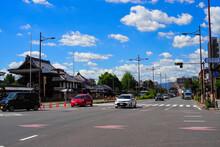 七条堀川 京都の街並み