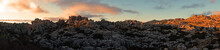 El Torcal In Spain During Sunset