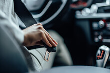 A Driver, Enjoying A Safe Drive.
