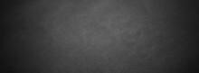 Dark Texture Chalk Board And Grunge Black Board Banner Background