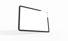 Tablet, Isolated On 3d Background White Ipad Tablet Pc