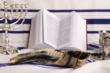 Shofar And Other Rosh Hashanah Holiday Symbols