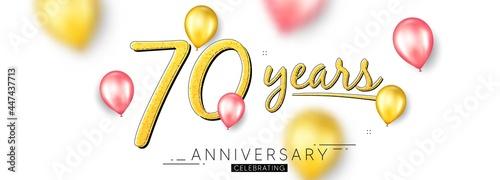 Fotografering 70 years anniversary