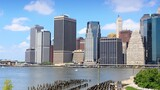 Fototapeta Nowy Jork - New York City Manhattan skyline