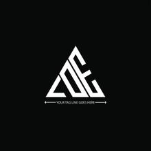 LDE Letter Logo Creative Design. LDE Unique Design, LOE Letter Logo Creative Design. LOE Unique Design